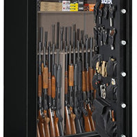 "Stack-On A-64-MB-E-S-72 Armorguard 72"" TALL, 64-Gun Safe with Electronic Lock"