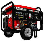 DuroStar 4,850 Watts Dual Fuel Portable Generator With Electric Start