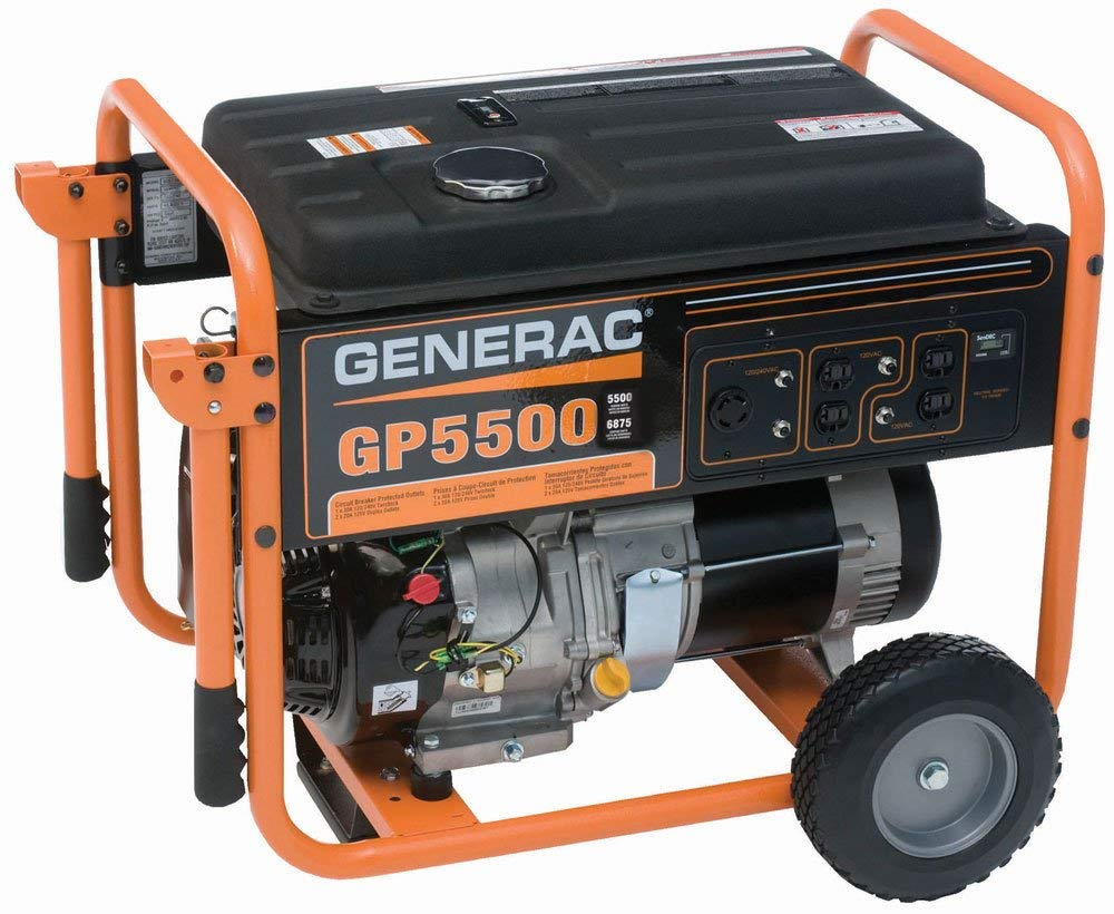 Generac 5975 | Gas Powered Portable Generator