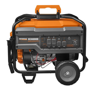 Generac 6826 |  XC8000E Gasoline Powered Portable Generator
