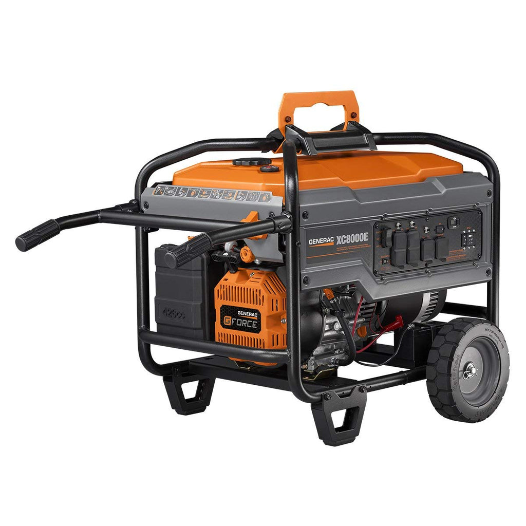 Generac 6827 | XC8000E Gasoline Powered Portable Generator