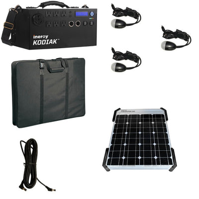 Kodiak Predator Portable Solar Generator - Bronze Kit