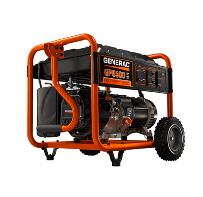 Generac 5976 | GP6500 Gas Powered Portable Generator