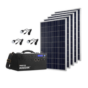 Kodiak Portable Solar Generator - Gold Kit