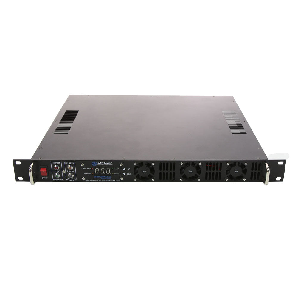 AIMS Power PRM1000W24120S | 1000W 24 VDC Pure Sine Rackmount Inverter