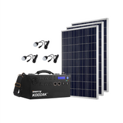 Kodiak Portable Solar Generator - Silver Kit