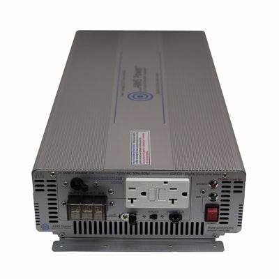 AIMS Power PWRIG300012120S | 3000W Pure Sine Power Inverter - Industrial Grade