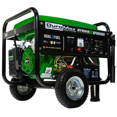Duromax XP4850EH | 4850W Dual Fuel Portable Generator