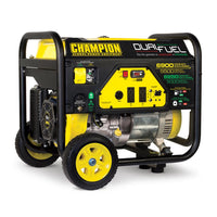 Champion 5500W Dual Fuel Portable Generator Free Shipping to Puerto Rico