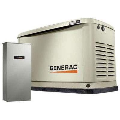 Generac 70321 | 11/10 KW Wi-Fi Air-Cooled Standby Generator