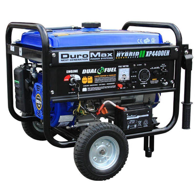 DuroMax XP4400EH | Dual Fuel Portable Generator Free Shipping to Puerto Rico