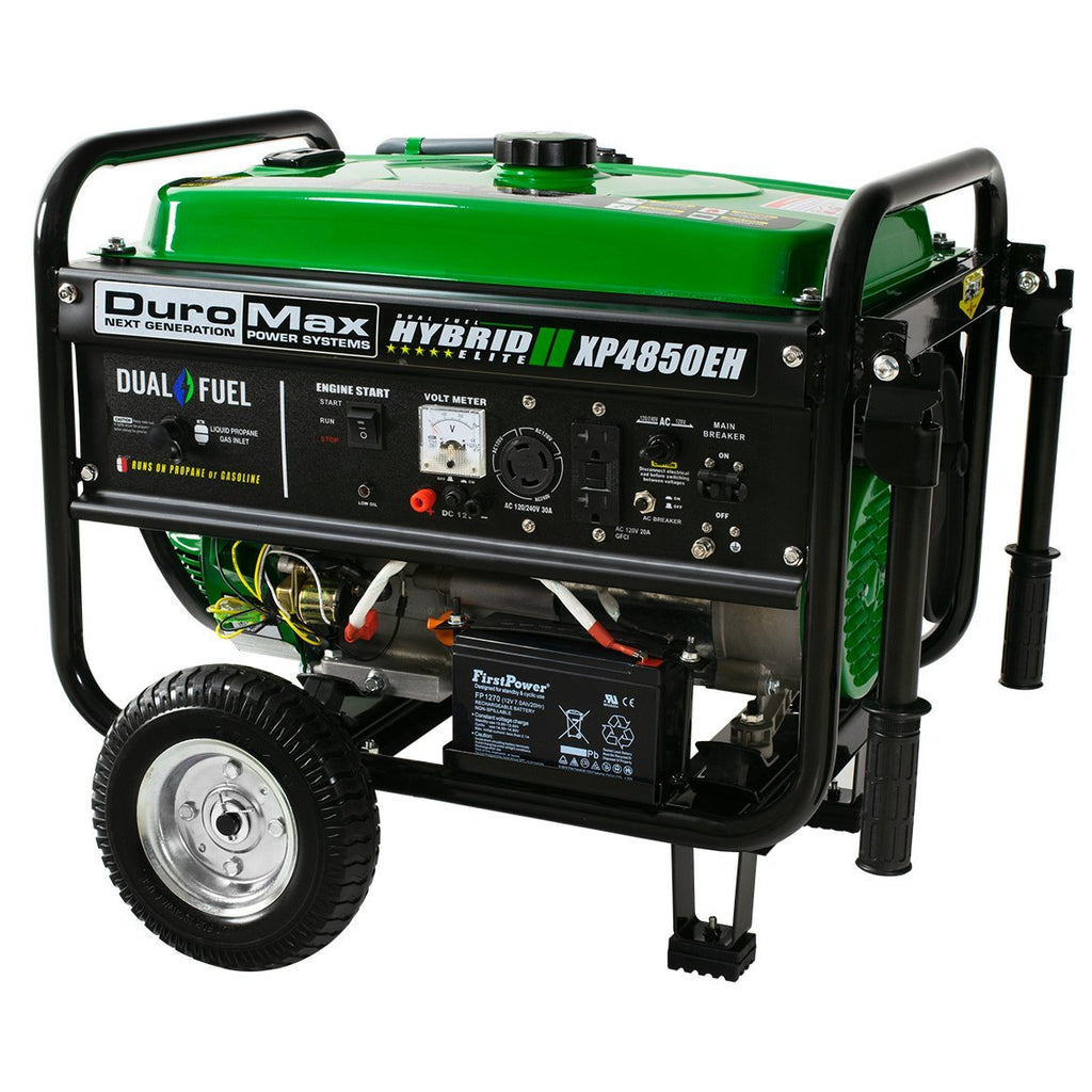 duromax xp4850eh 4850w dual fuel portable generator amazing