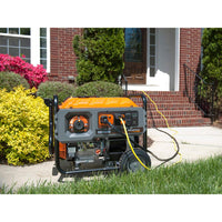 Generac 6675 | RS7000E Gasoline Powered Electric Start Portable Generator