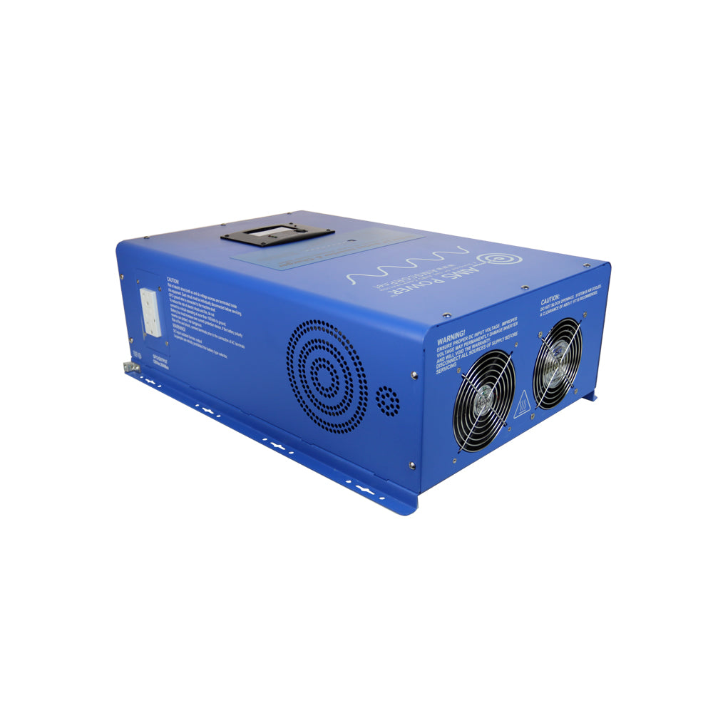 AIMS Power PICOGLF120W48V240VS | 12000W 48 VDC Pure Sine Inverter Charger ETL Listed
