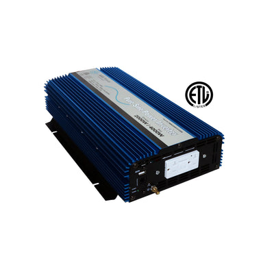 AIMS Power PWRI200012120S | 2000W Pure Sine Inverter w/ USB & Remote Port