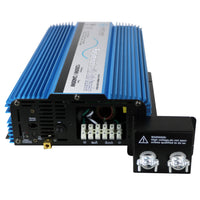 AIMS Power PWRIX120012SUL | 1200W Pure Sine Inverter with Transfer Switch - Hardwire UL Listed