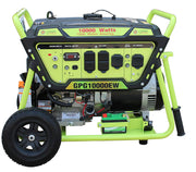 Green-Power America GPG10000EW 10000W Pro Electric Start Portable Generator