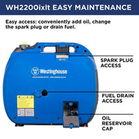 Westinghouse WH2200iXLT Inverter Generator | Free Shipping to Puerto Rico