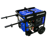 DuroMax XP15000EH -15000 Hybrid Portable Generator | Free Shipping US