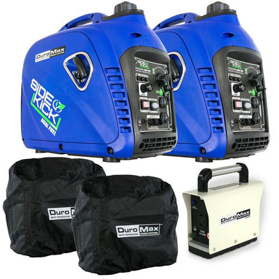 DuroMax XP2000EH-PKIT | 4000W Dual Fuel Portable Parallel Generators