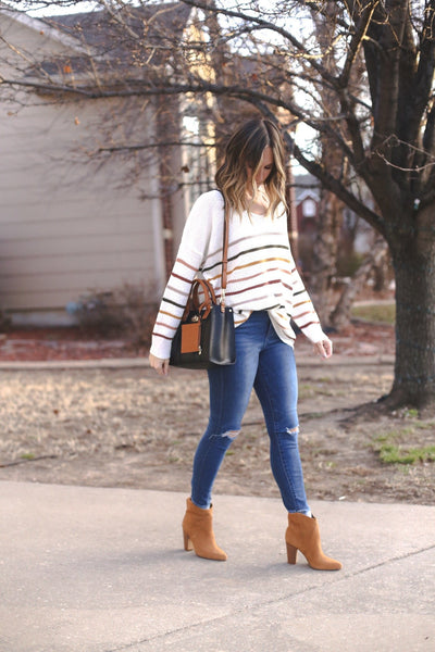 Macy Striped Sweater