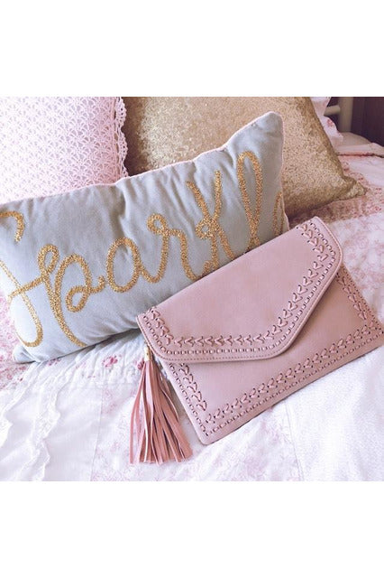 Making me Blush Clutch