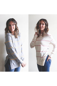 Riley Button Sweater