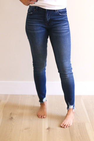 Damon High Rise Ankle Skinny Jean