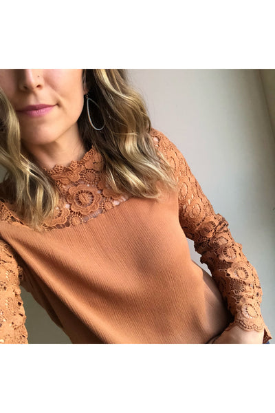 Penny Lace Top