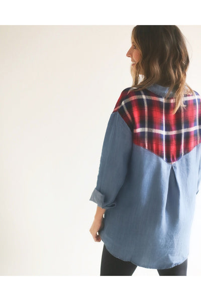 Kennedy Denim Top