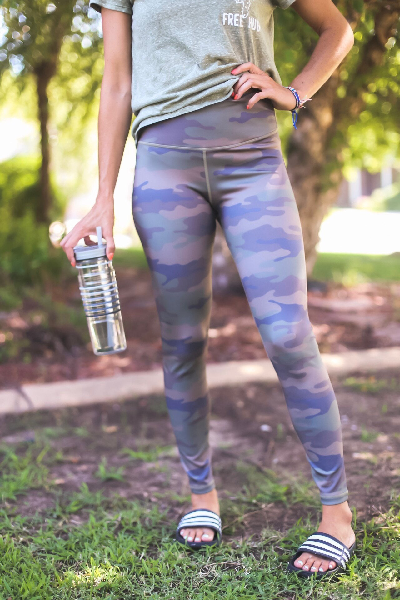 Briggs Camo Leggings