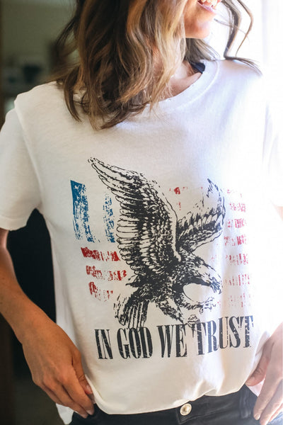 In God We Trust Graphic Tee