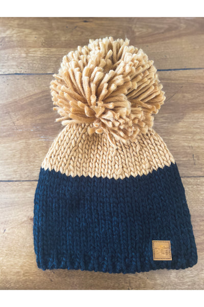 James Extra Large Pom Beanie