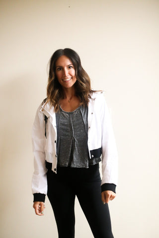 Jaren Cropped Active Jacket