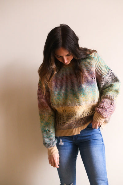 Jules Distressed Sweater