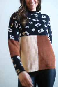 Kodi Color Block Sweater