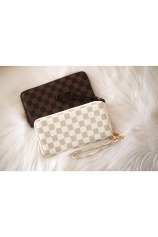 Murphy Checkered Wallet
