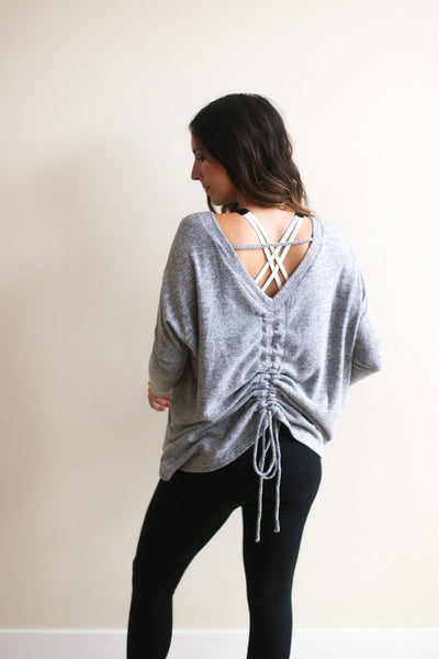 Payton Back Ruched Top