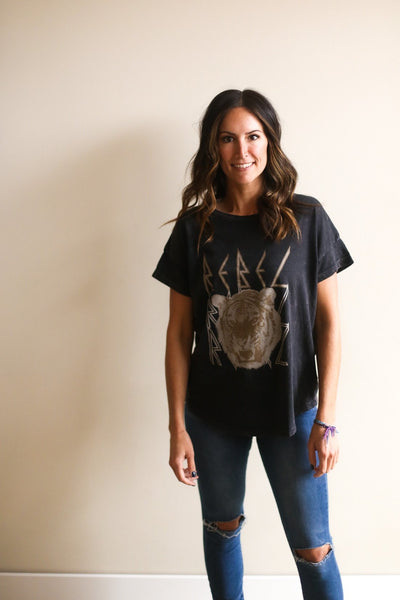 Rebel Tiger Graphic Tee