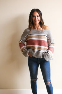 Remi Striped Sweater