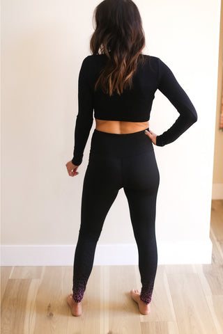 Sammy Crop Athleisure Top