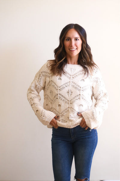 Sarah Chenille Sweater