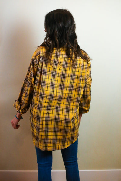 Troy Flannel Button Down