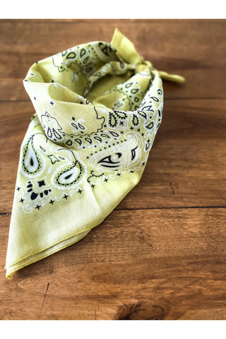 Lemon Bandana