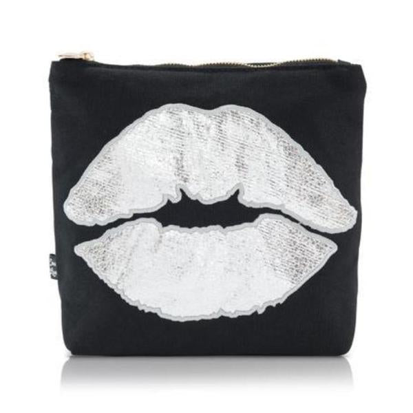 Silver Lip Wash Bag