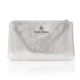 Silver Beautiful Lady Make Up Bag