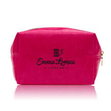 SOS Bag Medium Pink with Gold Lips