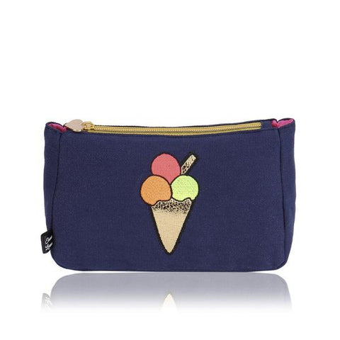 99' Please Ice cream make up bag