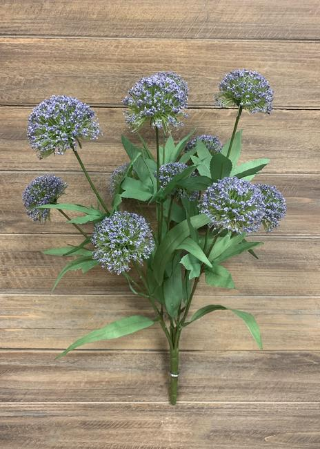 "20"" LAVENDER ALLIUM BUSH"