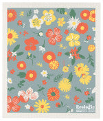 Flowers Swedish Cloth